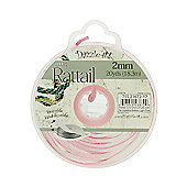Rattail with Re-Useable Bobbin - Light Pink - 20yds