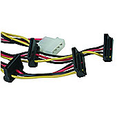 Maplin 4 Link SATA Power Supply Cable for HDD