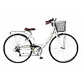 "19"" Viking Vitesse Ladies' Comfort 6-Speed 700c, White"