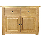 Home Zone Furniture Lincoln Oak 2009 Two Drawer Sideboard