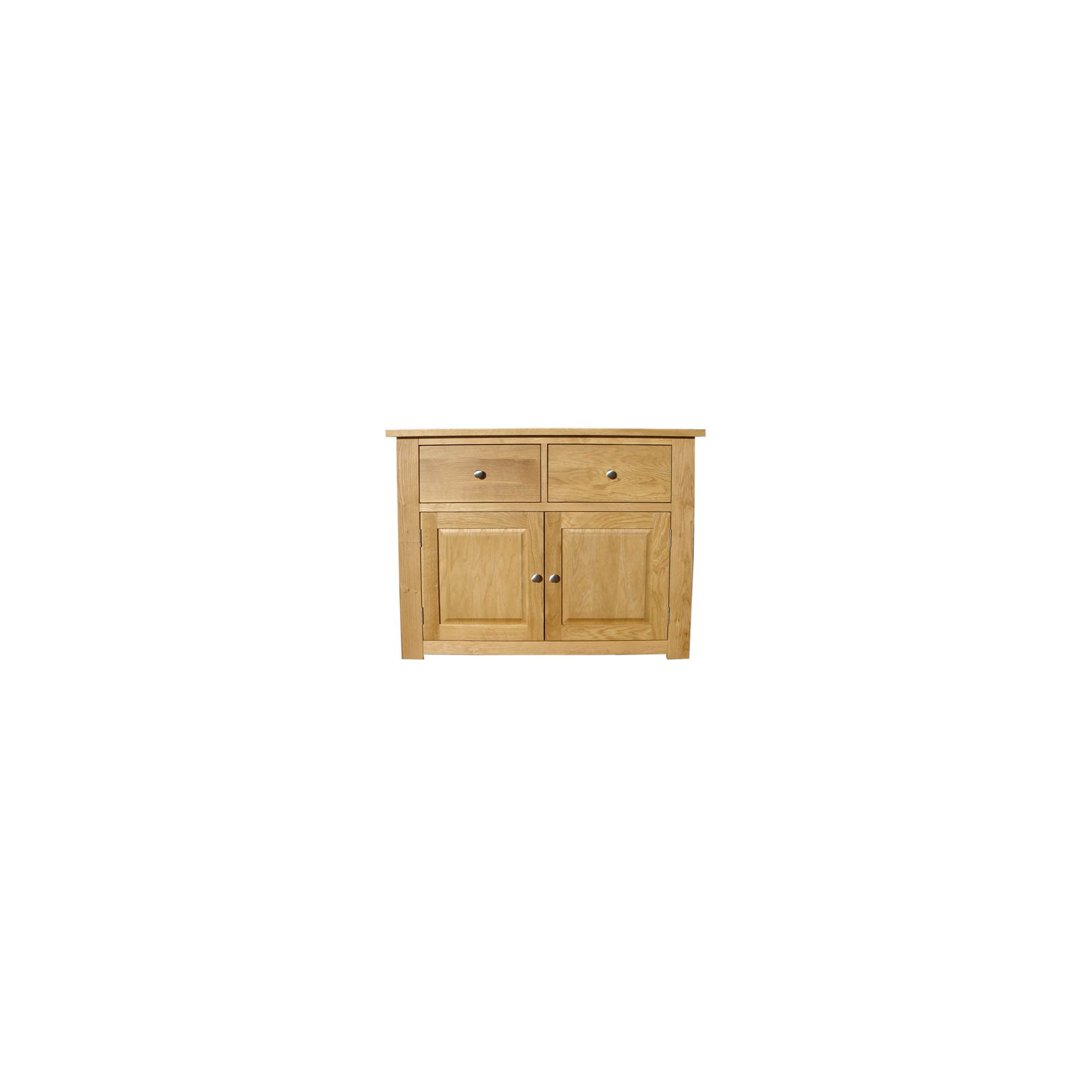 Home Zone Furniture Lincoln Oak 2009 Two Drawer Sideboard at Tesco Direct