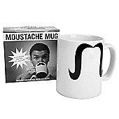 Moustache printed mug