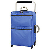 IT Luggage World's Lightest Suitcase, Blue Medium