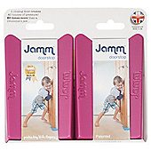 Jamm Door Stop Twin Pack Cerise Pink