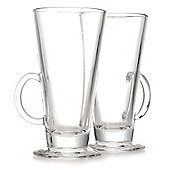 Latte and Irish Coffee Glasses, Pack of 2
