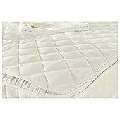 Silentnight Egyptian Cotton Mattress Protector, Superking