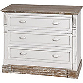 New England Three Drawer Chest