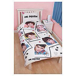 One Direction Single Duvet set