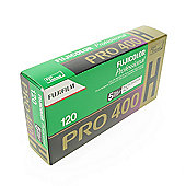 FUJI Professional Colour Negative Film - Pro 400H 120 - 5pk\n