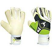 Precision Football Schmeichology 5 Hybrid (Mix Cut) Goalkeeper Gloves - White