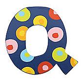 Tatiri Spots & Stripes Letter Q (Spots)