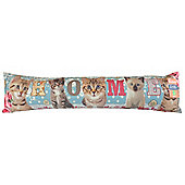 Door Art Photochromatic Draught Excluder, Cats (Home)