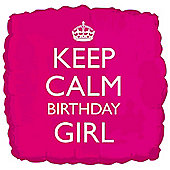 18' Keep Calm Birthday Girl (each)