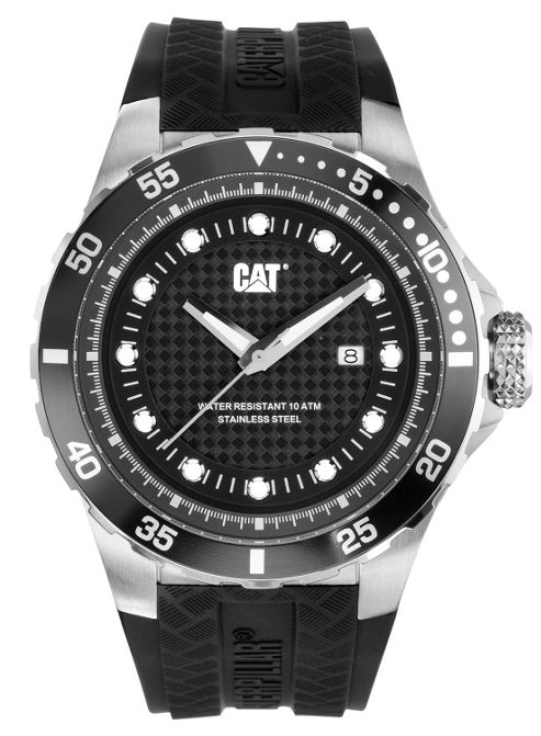 CAT P52 Sport Mens Rubber Date Watch YN.141.21.121