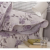 Kew Gardens Peony Script Oxford Pillowcase - Lavender