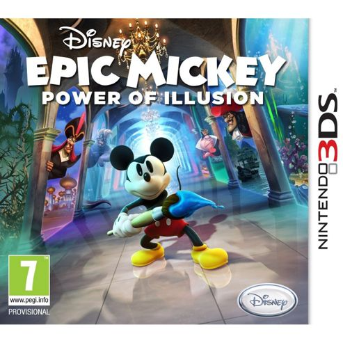 Disney Epic Mickey Power Of Illusion (3DS)