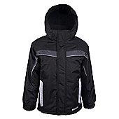 Hawk Kids Ski Jacket - Black