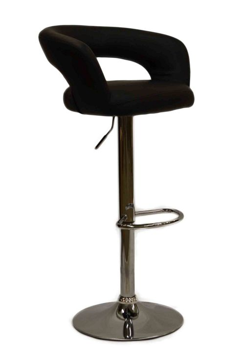 buy mars faux leather bar stool from our bar tables. Black Bedroom Furniture Sets. Home Design Ideas