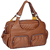 Laessig Tender Multi Pocket Changing Bag Cognac