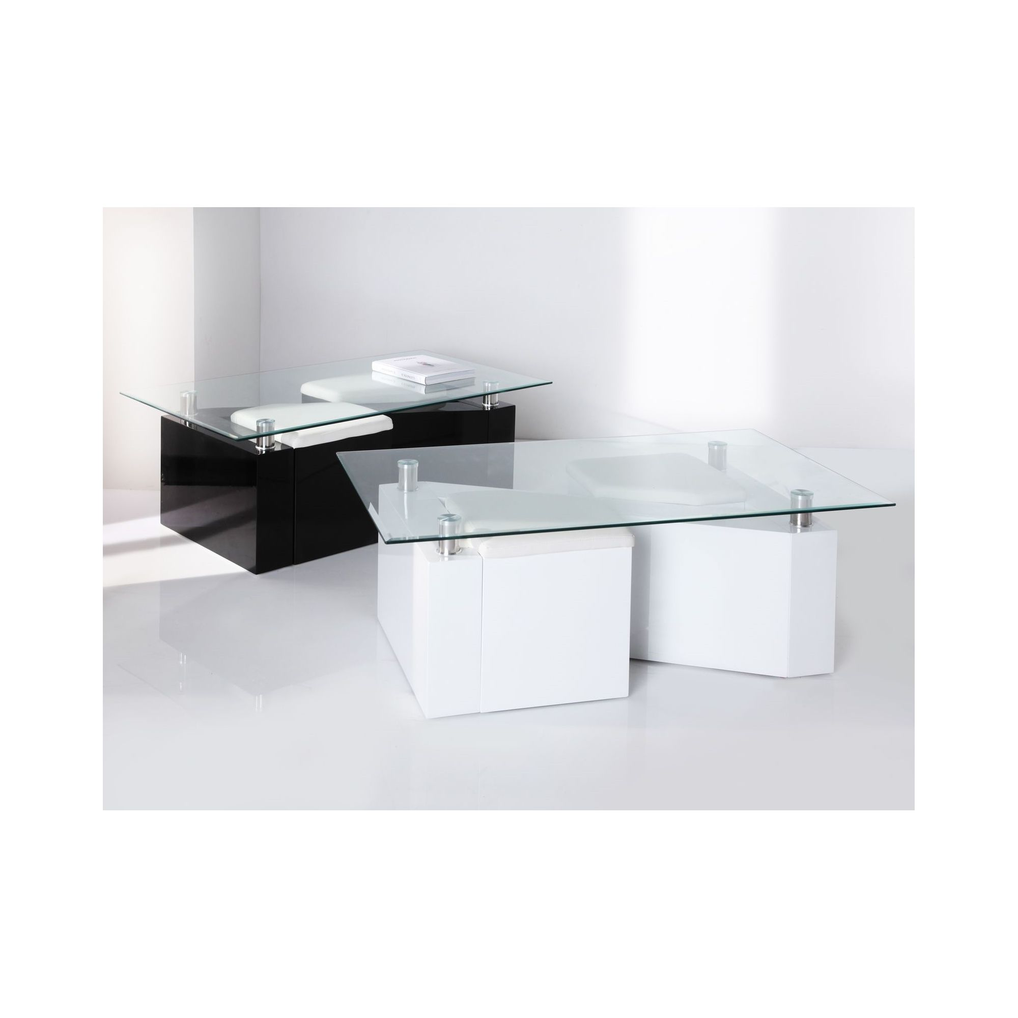 Wilkinson Furniture Ludo Coffee Table - Black at Tesco Direct