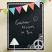 Peace Chalkboard Wall Sticker