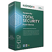 Kaspersky Total Security, 3 Devices, 1 Year, CD