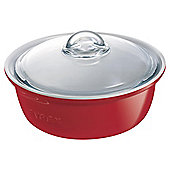 Pyrex Impressions Casserole 1.5L Red