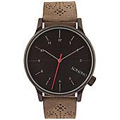 Komono Winston Brogue Charcoal Watch - KOM-W2014