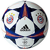 adidas Finale 15 Bayern Munich Capitano Football Soccer Ball White - 5