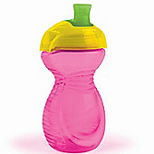 Munchkin Click Lock Spill Proof Cup 10oz Pink