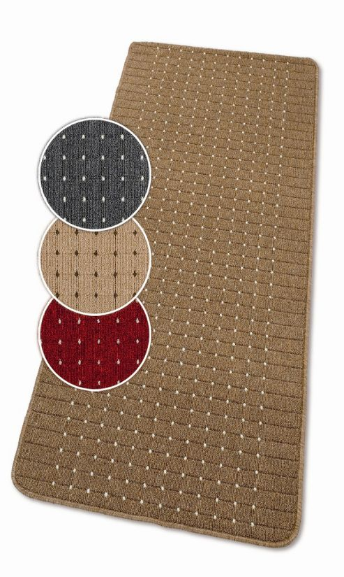 Dandy Stanford Chestnut / Sugar Contemporary Rug - 67cm x 100cm
