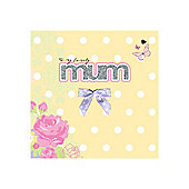 Sparkle and Bow Mum Card