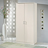 Amos Mann furniture Venice 2 Door Wardrobe - White