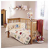 Clair de Lune ABC 2 piece Cot/Cot Bed Set