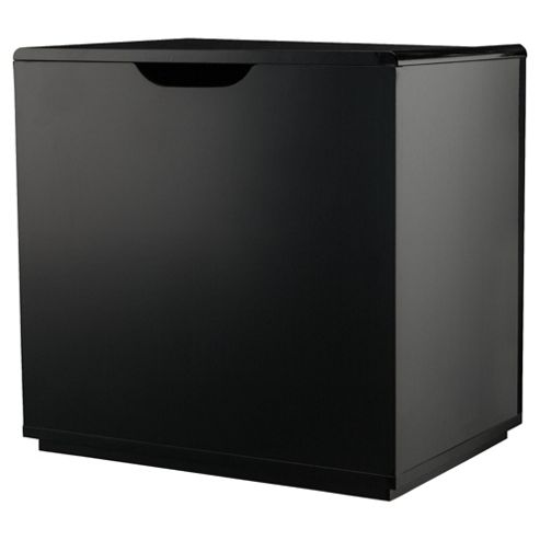 Stockholm Black Gloss Storage Seat