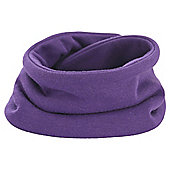Snoodie Purple Dribble Bib
