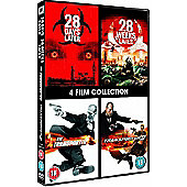 28 Days Later/28 Weeks Later/The Transporter/Transporter 2 (DVD Boxset)