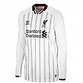 2013-14 Liverpool Home LS Goalkeeper Shirt (Kids) - White