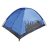 Yellowstone 2-Person Carnival Festival Tent, Blue