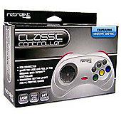 USB SEGA Saturn Classic Controller (Grey) - PC