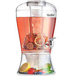 VonShef 8L Drinks Dispenser, Fruit Infuser with Tap