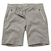 Craghoppers Ladies Kiwi Pro Stretch Shorts - Grey