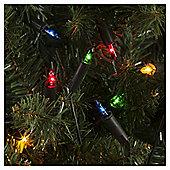 100 Fairy Christmas Lights, Coloured