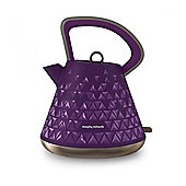Morphy Richards 108107 Prism, Cordless Kettle, with 1.5L Capacity, in Purple