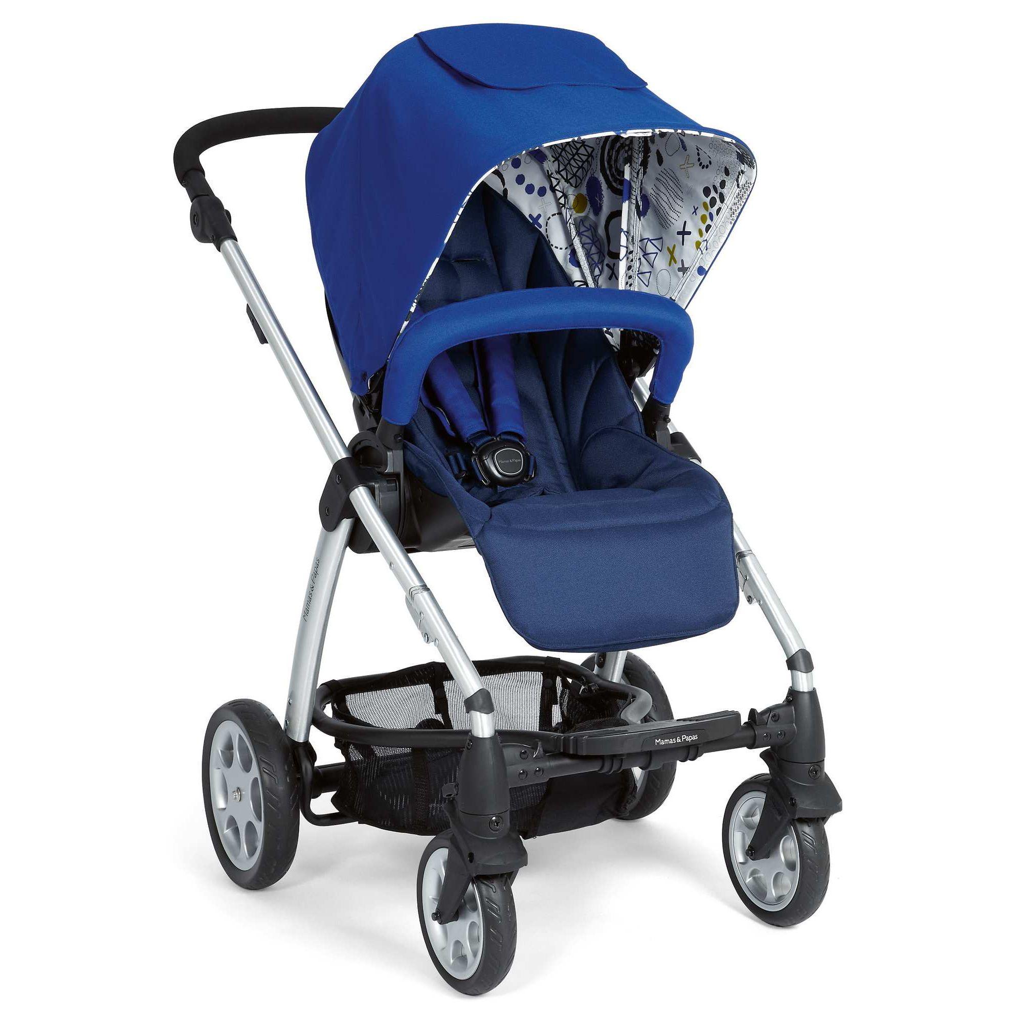 Mamas & Papas - Sola Pushchair - Blue at Tesco Direct