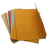 Handmade Recycled Paper Envelopes Assorted Colours. C6 100gsm, 20 pack.
