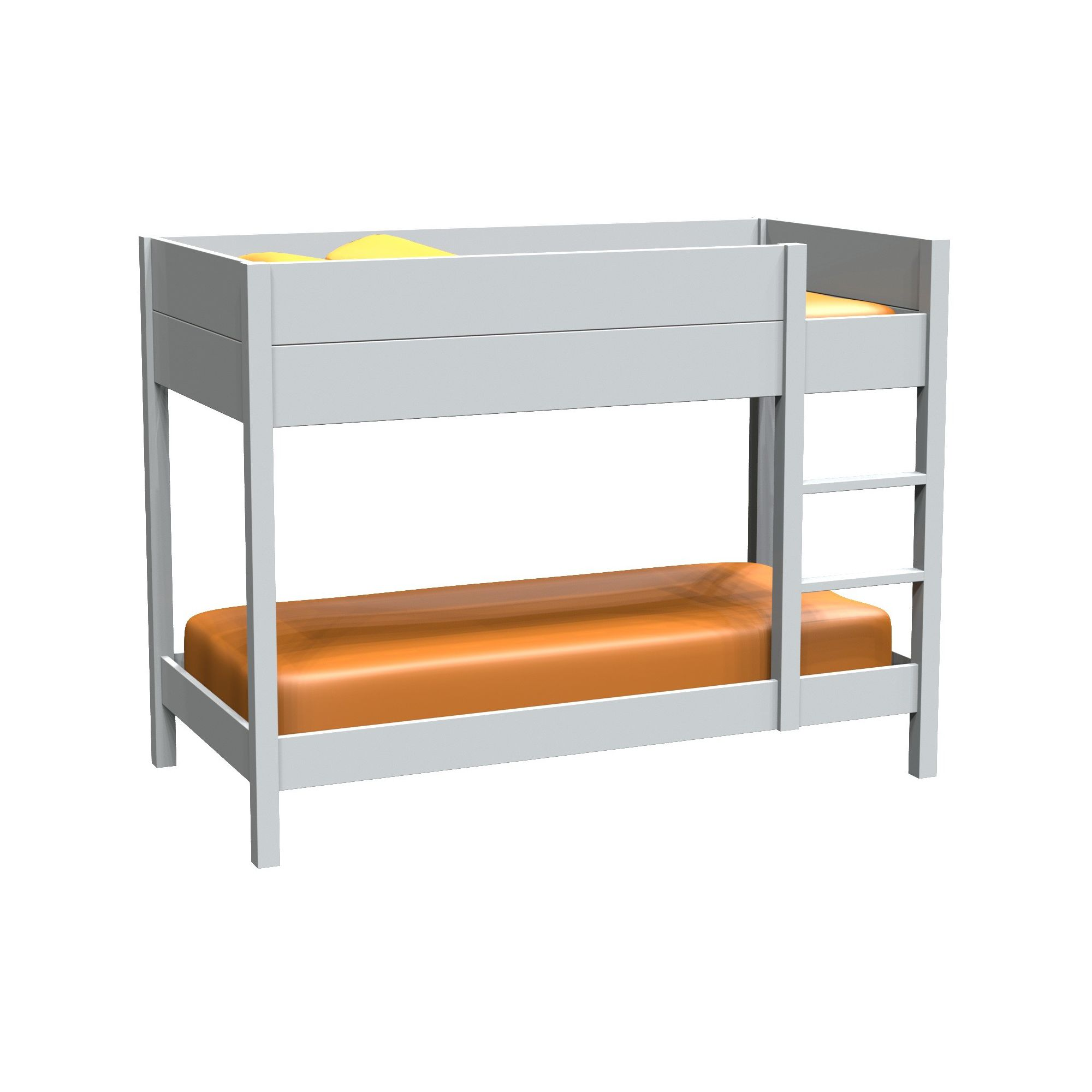 Bunk bed width 90cm pred second hand bunk beds 100 for Second hand bunk beds