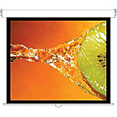 Optoma Panoview DS-3072PMG+ 72 inch Manual Pull Down 4:3 Projection Screen (Self Locking Mechanism) - Matt White