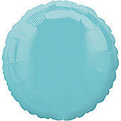 Robin Egg Blue Round Balloon - 18' Foil (each)