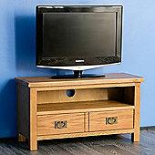 Surrey Oak 90cm TV Stand - Rustic Oak